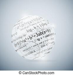 matemático, esfera