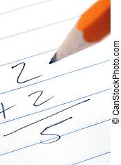matematyka, problemy, do góry szczelnie