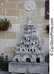 matera, -, イタリア語, クローズアップ, 都市, 洞穴, 住居, basilicata., ∥ディ∥, 石,...