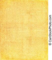 materiał, żółte tło