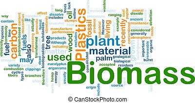 materiaal, concept, biomass, achtergrond