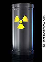 materiaal, radioactief