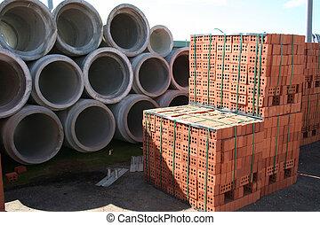 materiais edifício