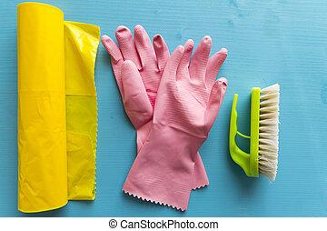 materiais, limpeza