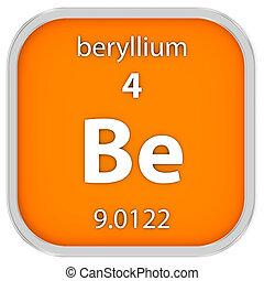 material, beryllium, sinal