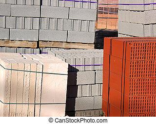 material, construção