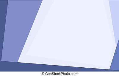 Material design background - Simple blue flat vector banner...