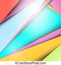 Material Design - Modern Background - Pattern Layout
