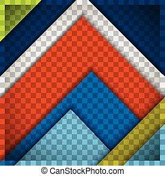 material design multi coloured