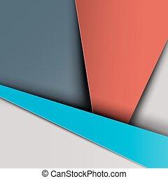 Material Design  Retro Background
