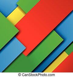 Material design vector background illustration