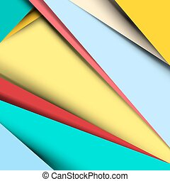 Material Design Vector Retro Background - Pattern