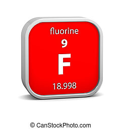 material, fluorine, sinal