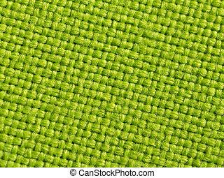 material, grön fond
