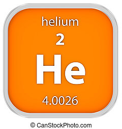 material, hélio, sinal