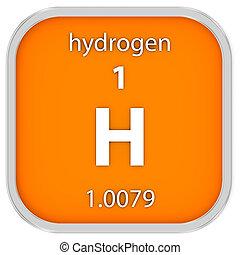 material, hidrogênio, sinal