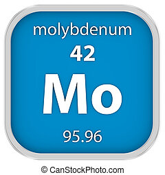 material, molybdenum, sinal