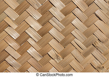 material natural handcraft weave texture bamboo surface interior for background