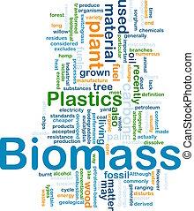 materiale, concetto, biomass, fondo
