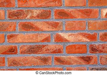 materiales de construcción, -, ladrillos, rojo