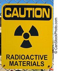 materiali, radioattivo