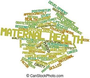 maternal, salud