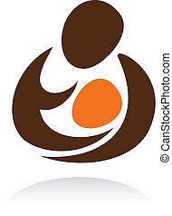 maternidad, icono