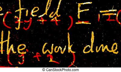 mathématique, fond