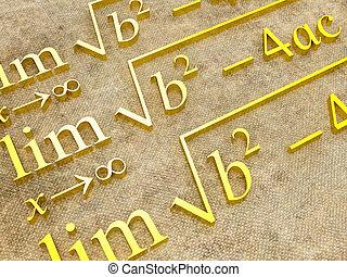 mathématique, formules