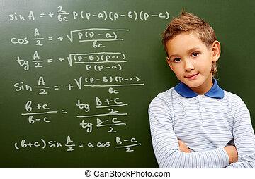 mathématique, jeune