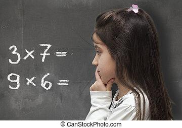 mathématique, pensée