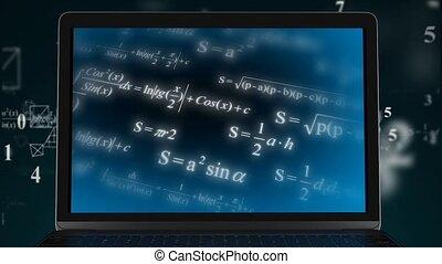 mathématique, power., computational, calcul, complexe, ...