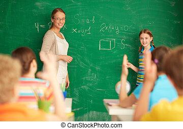 mathématiques, apprentissage