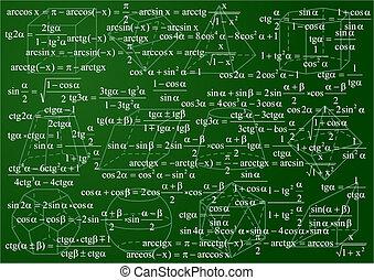mathématiques, fond
