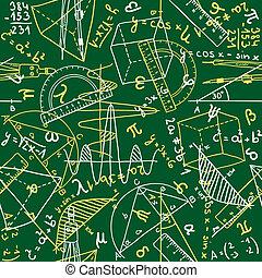 mathématiques, seamless, modèle