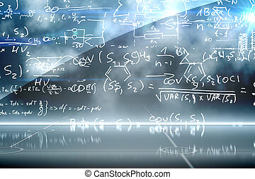 Math equation background
