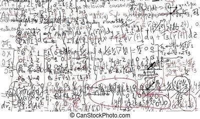 Math formulas moving around - Math formulas moving in ...