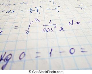 math, géométrie, équation, nombre, math, fond, formules