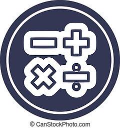 math symbols icon