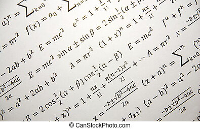 Mathbackground - Math background with formulas, Einstein...