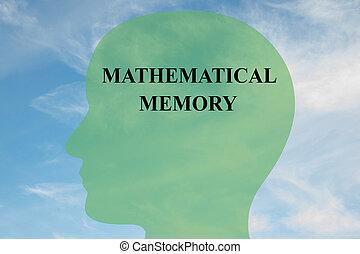 Mathematical Memory concept