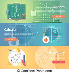 Mathematical science. Algebra. Calculus. Geometry. Exact...