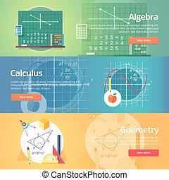 Mathematical science. Algebra. Calculus. Geometry. Exact...