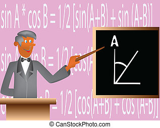 Mathematician nearly board - Tutor teach students basis of...