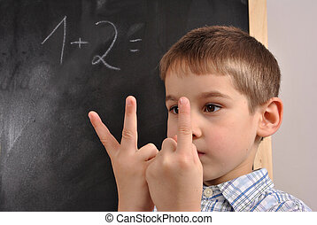 Mathematics at the primary school - Junior pupil by the...