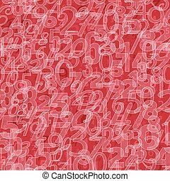 Mathematics background - different numbers pattern