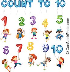 Mathematics Card Couting Number Chapter illustration