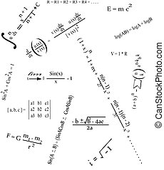 Mathematics Formulas - It is a photo of collection of some...