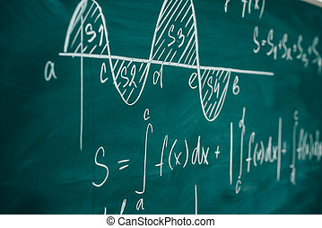 Mathematics lesson differential and integral calculus...