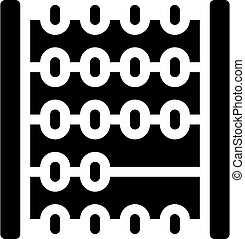 mathematics lesson glyph icon vector black illustration